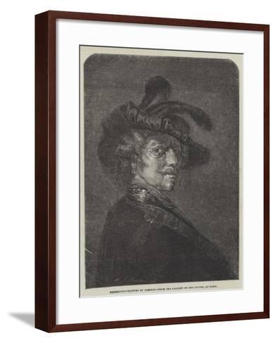 Rembrandt-Rembrandt van Rijn-Framed Art Print