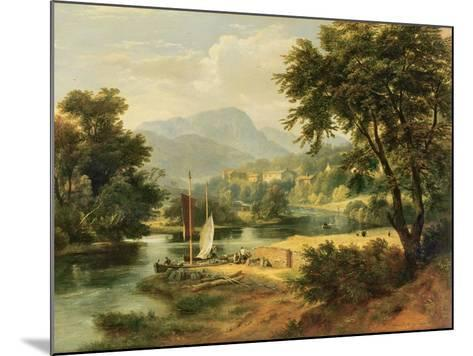 View of Clappersgate on the River Brathay Above Windermere-Ramsay Richard Reinagle-Mounted Giclee Print