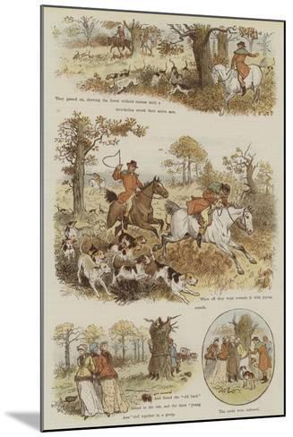 The Legend of the Laughing Oak-Randolph Caldecott-Mounted Giclee Print