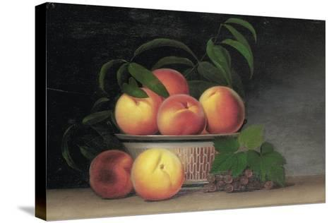 Still-Life with Peaches, C.1816-Raphaelle Peale-Stretched Canvas Print