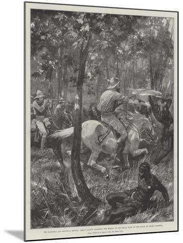 The Matabili and Mashona Revolt-Richard Caton Woodville II-Mounted Giclee Print