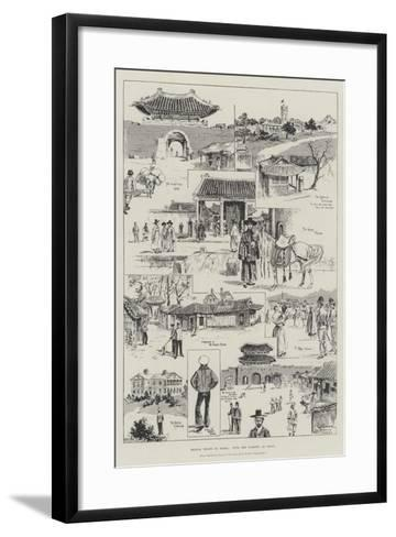 British Troops in Korea, with the Marines at Seoul-Ralph Cleaver-Framed Art Print