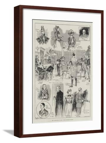 The Manoeuvres of Jane, at the Haymarket Theatre-Ralph Cleaver-Framed Art Print