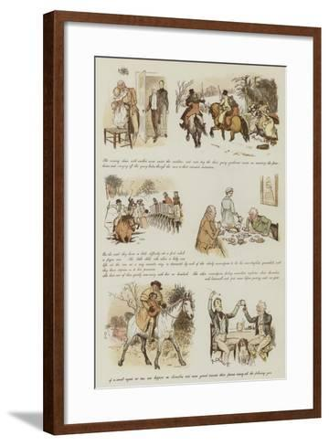 The Curmudgeons' Christmas-Randolph Caldecott-Framed Art Print