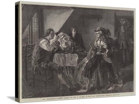 Peg Woffington's Visit to Triplet-Rebecca Solomon-Stretched Canvas Print