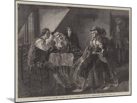 Peg Woffington's Visit to Triplet-Rebecca Solomon-Mounted Giclee Print