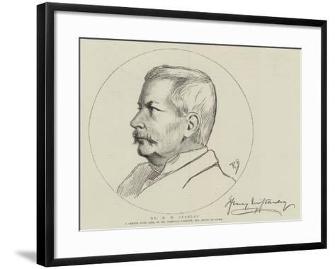 Mr H M Stanley-Reginald Barratt-Framed Art Print