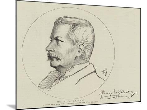 Mr H M Stanley-Reginald Barratt-Mounted Giclee Print
