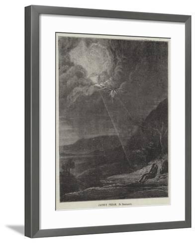 Jacob's Dream-Rembrandt van Rijn-Framed Art Print