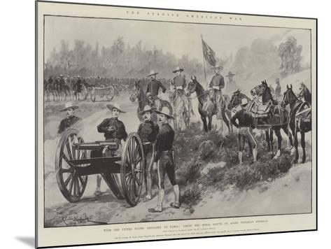 The Spanish-American War-Richard Caton Woodville II-Mounted Giclee Print