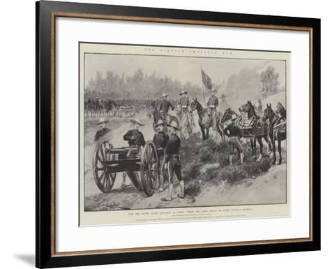 The Spanish-American War-Richard Caton Woodville II-Framed Art Print