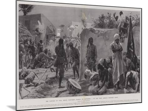 The Capture of Yola, Benue, Northern Nigeria, on 2 September, by the West African Frontier Force-Richard Caton Woodville II-Mounted Giclee Print