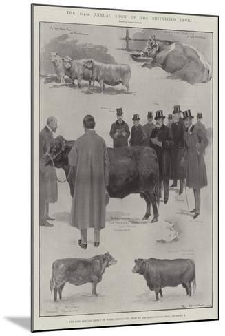 The 104th Annual Show of the Smithfield Club-Ralph Cleaver-Mounted Giclee Print