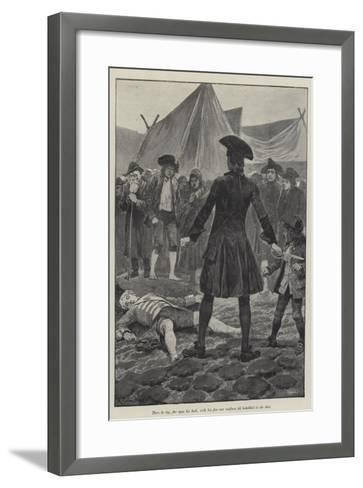 Illustration for a Colonel of the Empire-Richard Caton Woodville II-Framed Art Print