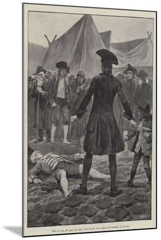 Illustration for a Colonel of the Empire-Richard Caton Woodville II-Mounted Giclee Print