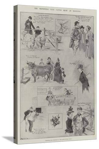 The Smithfield Club Cattle Show at Islington-Ralph Cleaver-Stretched Canvas Print