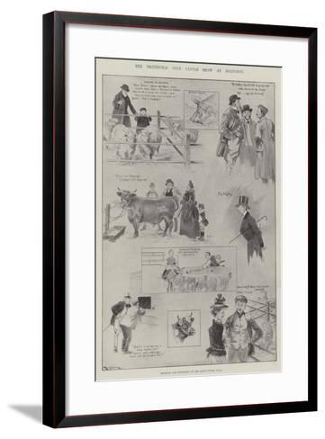 The Smithfield Club Cattle Show at Islington-Ralph Cleaver-Framed Art Print