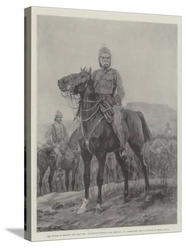 The Victor of Belmont and Gras Pan-Richard Caton Woodville II-Stretched Canvas Print