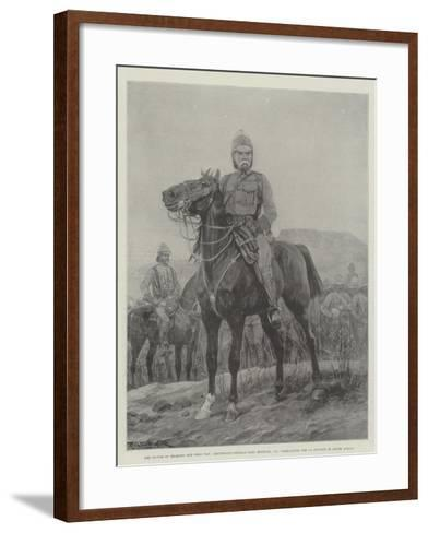 The Victor of Belmont and Gras Pan-Richard Caton Woodville II-Framed Art Print