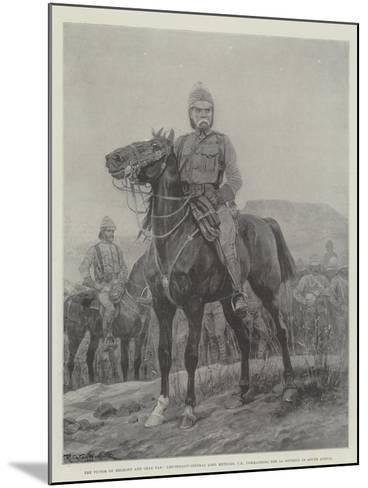 The Victor of Belmont and Gras Pan-Richard Caton Woodville II-Mounted Giclee Print