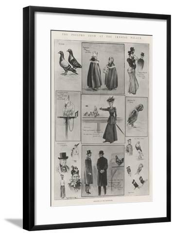 The Poultry Show at the Crystal Palace-Ralph Cleaver-Framed Art Print