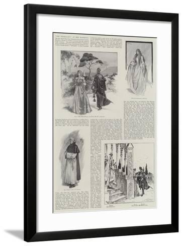 The Termagant, at Her Majesty's-Ralph Cleaver-Framed Art Print