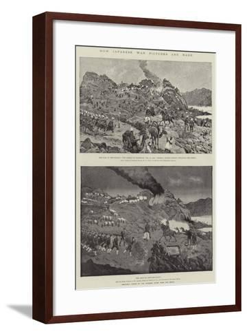 How Japanese War Pictures are Made-Richard Caton Woodville II-Framed Art Print