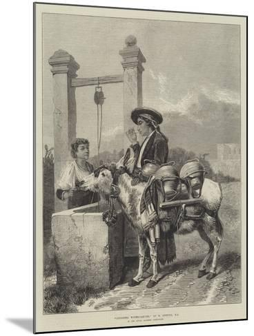 Alhambra Water-Carrier-Richard Ansdell-Mounted Giclee Print