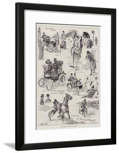 The Automobile Club Show at Richmond-Ralph Cleaver-Framed Art Print
