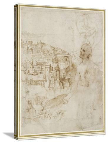 View of the City of Perugia-Raphael-Stretched Canvas Print