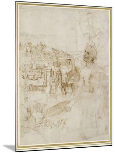 View of the City of Perugia-Raphael-Mounted Giclee Print