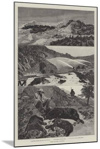 Views in Upper California-Richard Caton Woodville II-Mounted Giclee Print
