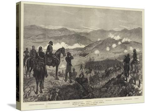 The War in Armenia, Battle of Kizil-Tepe, 25 August-Richard Caton Woodville II-Stretched Canvas Print