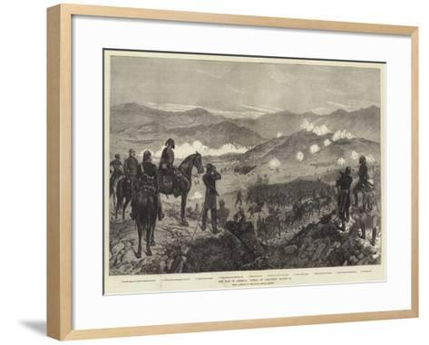 The War in Armenia, Battle of Kizil-Tepe, 25 August-Richard Caton Woodville II-Framed Art Print