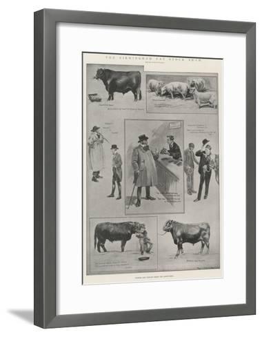 The Birmingham Fat Stock Show-Ralph Cleaver-Framed Art Print