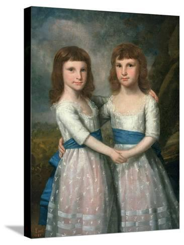 The Stryker Sisters, 1787-Ralph Earl-Stretched Canvas Print