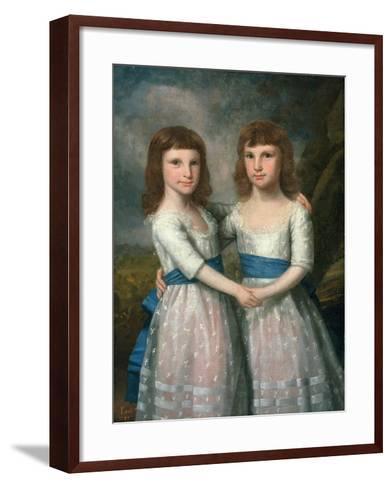 The Stryker Sisters, 1787-Ralph Earl-Framed Art Print
