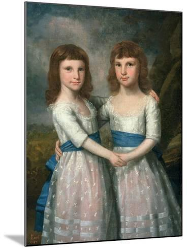 The Stryker Sisters, 1787-Ralph Earl-Mounted Giclee Print