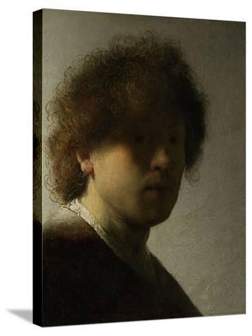 Self Portrait as a Young Man, C.1628-Rembrandt van Rijn-Stretched Canvas Print
