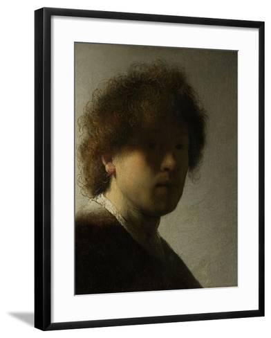 Self Portrait as a Young Man, C.1628-Rembrandt van Rijn-Framed Art Print