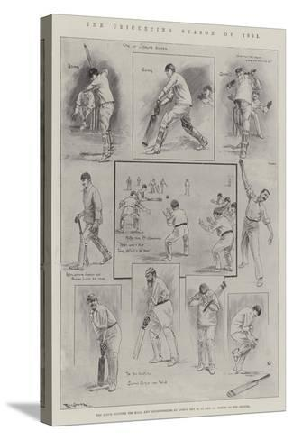 The Cricketing Season of 1901-Ralph Cleaver-Stretched Canvas Print