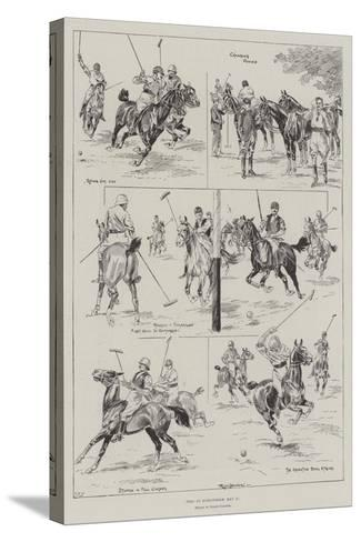 Polo at Hurlingham, 11 May-Ralph Cleaver-Stretched Canvas Print
