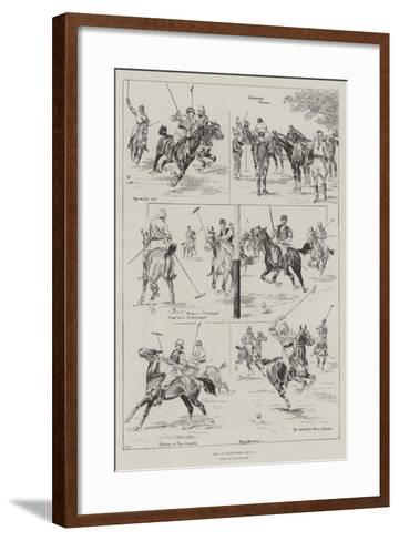 Polo at Hurlingham, 11 May-Ralph Cleaver-Framed Art Print