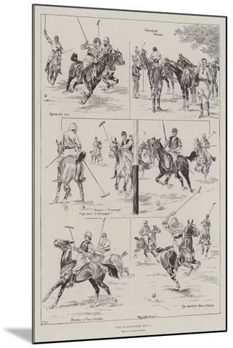 Polo at Hurlingham, 11 May-Ralph Cleaver-Mounted Giclee Print