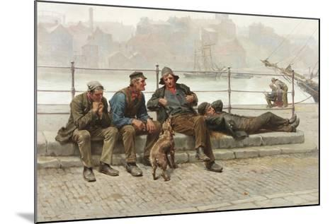 Out of Work, 1888-Ralph Hedley-Mounted Giclee Print