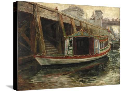 Sketch for 'The Lord Mayor's Barge', 1891-Ralph Hedley-Stretched Canvas Print