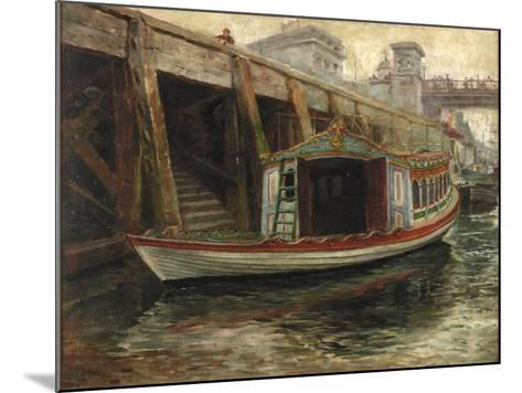 Sketch for 'The Lord Mayor's Barge', 1891-Ralph Hedley-Mounted Giclee Print