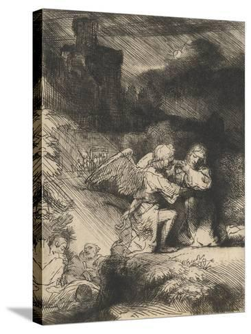 The Agony in the Garden, C.1657-Rembrandt van Rijn-Stretched Canvas Print