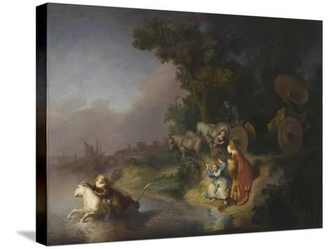 The Abduction of Europa, 1632-Rembrandt van Rijn-Stretched Canvas Print