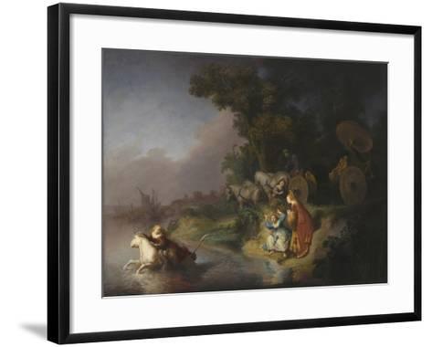 The Abduction of Europa, 1632-Rembrandt van Rijn-Framed Art Print